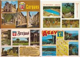 France -- Départements Différents (03) -- Multivues -- Lot De 80 Cartes - France