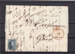 N° 7 Margé Planche I / Lettre  (lac ) Du 5 Mars 1852 - 1851-1857 Medaillen (6/8)