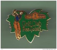 GOLF *** CLUB BEAUJOLAIS *** 1044 - Golf