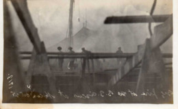 1913 - Incendie Au Cirque BARNUM Et BAILEY - CARTE PHOTO - Circo