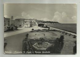 MILAZZO - PIAZZETTA F. CRISPI E MARINA GARIBALDI VIAGGIATA FG - Messina