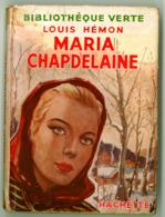 """Bibliothèque Verte Avec Jaquette - Louis Hémon - """"Maria Chapdelaine"""" - 1951 - Bibliothèque Verte"""