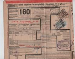 CF21/ TR145-158  S/Bulletin D'expédition Trilingue C.Nord-Belge Ougrée 13/9/35  > St.Nicholas Waes - Nord Belge