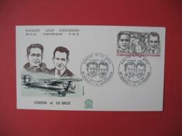 FDC France 1981   N° PA 55   Hommages Aux Aviateurs Dieudonné Costes Et Joseph Le Brix - FDC