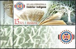 "Moldova 2019 ""Internation Year Of Indigenous Lang"" 1v Quality:100% - Moldawien (Moldau)"