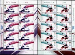 "Moldova 2019 ""European Games - 2019 Minsk"" 2 Sheets Quality:100% - Moldawien (Moldau)"