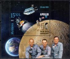 "Moldova 2019 ""50th Anniversary Of The First Apollo11 Moon Landing"" SS Quality:100% - Moldawien (Moldau)"