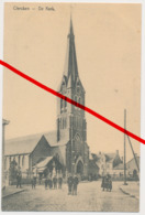 Klerken Clercken - Kerk Kiche Eglise Church - 1915 - Diksmuide