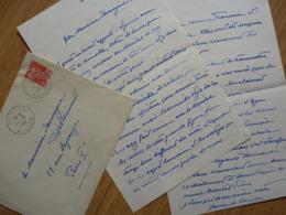 Prince Xavier 1er De BOURBON PARME (1889-1977) Trône CARLISTE Espagne SPANA [ Maréchal CROY ]. AUTOGRAPHE - Autographs