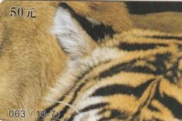 CHINA. FAUNA. PUZZLE. TIGRE Y LEON - TIGER AND LION. 063(16-7). (031). - Puzzles