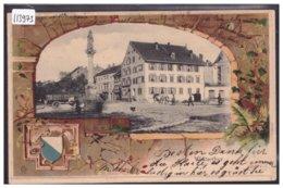 WINTERTHUR - PRÄGE KARTE - CARTE EN RELIEF - TB - ZH Zurich