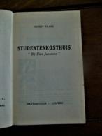 "STUDENTENKOSTHUIS  "" Bij Fien Janssens    ERNEST  CLAES 1950  Druk  Brepols N . V .  TURNHOUT - Literatuur"