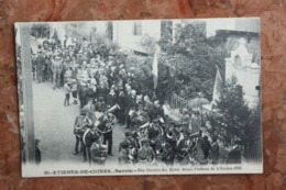 SAINT ETIENNE DE CUINES (73) - FETE OUVRIERE DES ETABLI BOZON VERDURAZ DU 4 OCTOBRE 1926 - Autres Communes