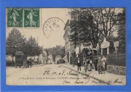92 HAUTS DE SEINE - CHAVILLE VELIZY, La Rue De Jouy, Façade Du Restaurant Valroff (voir Descriptif) - Chaville