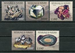 Burundi 2012 / Minerals Geology MNH Geologia Minerales / Cu7607  36-18 - Minerales