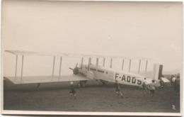 1er Vol  LAUSANNE - PARIS 1931 Blécherette Farman F.60 Goliath - VD Vaud