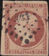 France  .   Yvert   .     17     .     O          .       Oblitéré - 1853-1860 Napoleon III