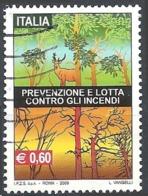Italia, 2009 Prevenzione E Lotta Contro Gli Incendi, 0.60€ # Sassone 3113 - Michel 3322 - Scott 2954  USATO - 6. 1946-.. Repubblica