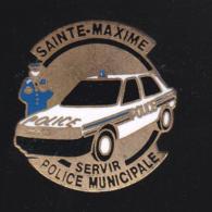 59711-pin's.police Municipale De Sainte Maxime. - Police