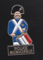59712-pin's.police Municipale .tambour.. - Police