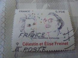 CELESTIN ET ELISE FREINET (2018) - Oblitérés