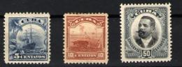 Cuba Nº 150/152. Año 1905 - Cuba