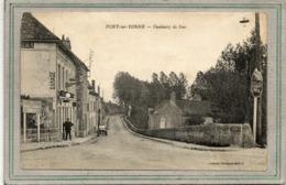CPA - PONT-sur-YONNE (89) - Aspect Du Garage Du Faubourg De Sens Au Début Du Siècle - Pont Sur Yonne