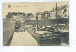 Ath Le Canal ( Très Rare !!! ) Péniche - Ath