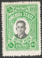 Orchha(India). 1935 Maharajah Vir Singh II, ½a MH. SG9 - Orchha
