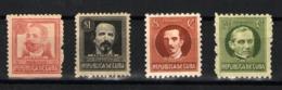 Cuba Nº 182/83, 188ª, 189ª. Año 1917-45 - Ungebraucht