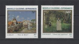 NOUVELLE-CALEDONIE.  YT  N° 529/530  Neuf **  1986 - Nuevos
