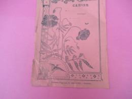 Couverture De Cahier D'écolier/Arts Déco/ Coquelicots/Librairie Papeterie LEMOUES/CHARTRES /Vers 1935     CAH234 - Papierwaren