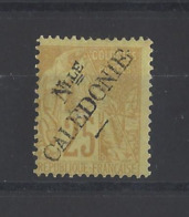NOUVELLE-CALEDONIE.  YT   N° 28  Neuf *  1892 - Nuevos