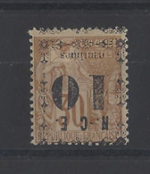 NOUVELLE-CALEDONIE.  YT   N° 12  Neuf *  1891 - Nuevos