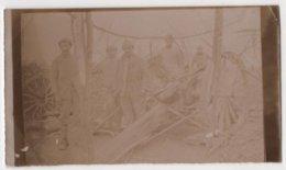 ABAA Photo Originale Militaria WWI Albert Bertrand Artillerie 1915  Bois De La Lampe Regnieville Fey En Haye - Guerre, Militaire