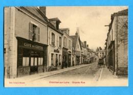 45 - Loiret - Chatillon Sur Loire -  Grande Rue - ( Cafe Du Centre ) (0285) - Chatillon Sur Loire