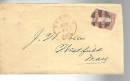 53048 ) USA Boston Postmark Duplex - 1847-99 General Issues
