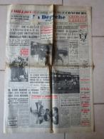 Journal La Depeche D Algérie Octobre 1961 De Gaulle - Syrie - Explosion Navire Cargo - Hippodrome Du Caroubier Alger - Newspapers