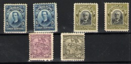 Cuba Nº 163/64, 168, 170. Año 1911-16 - Cuba