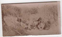 ABAA Photo Originale Militaria WWI Albert Bertrand Artillerie 1915 Repos Bois De La Lampe Regnieville Fey - Guerre, Militaire