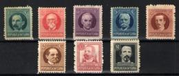 Cuba Nº 175/80 Y 182/83. Año 1917 - Cuba