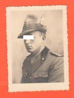 Alpini Sten Dronero Cuneo Divise Uniformes Uniforms Cappello Copricapi Militari Foto Anni '40 - War, Military
