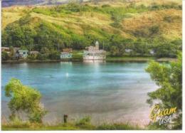 Umatac Village, Sud De Guam. Belle Carte Postale De Guam, Adressée Andorra, Avec Timbre à Date Arrivée - Guam