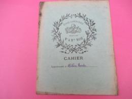 Couverture De Cahier D'écolier/Ecole Communale Dirigée Par Mr & Mme MASSE ( La Couture Boussey? /Vers 1920-1930   CAH237 - Papierwaren