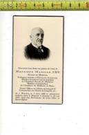 DP 8180 - MANILLE IDE - WERVICQ 1866 + LOUVAIN 1945 - PROFESSEUR A L UNIVERSITE DE LOUVIN - Imágenes Religiosas