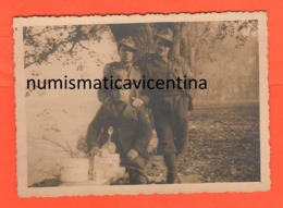 Alpini E Gavette Casale Monferrato Foto Di Posa 1940 - War, Military