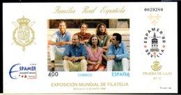 España Nº Edifil 58 ** Prueba De Lujo - Blocs & Hojas