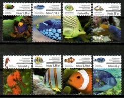 Poland 2014 Polonia / Fish MNH Fische Peces Poissons / Cu12211  36-14 - Peces