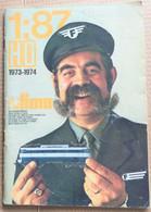FERROVIE LIMA ITALAIAN CATALOGO ANNO 1973-74 SCALA 1:87 (210819) - Livres Et Magazines
