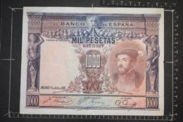 Billet, ESPAGNE, 1000 Pesetas Du 01/07/1925 Banco De Espana - [ 1] …-1931 : Premiers Billets (Banco De España)